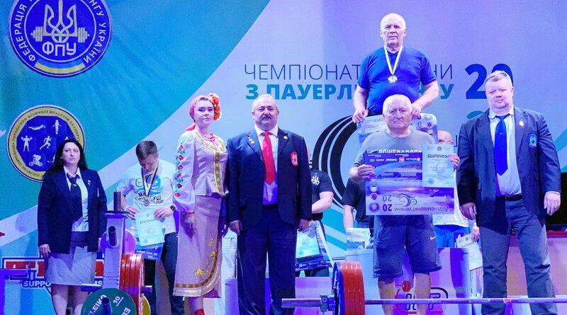 Так тримати! Межівчанин – чемпіон України з пауерліфтингу!