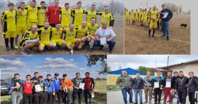 Нагородили чемпіонів та призерів першості Межівського району з футболу!