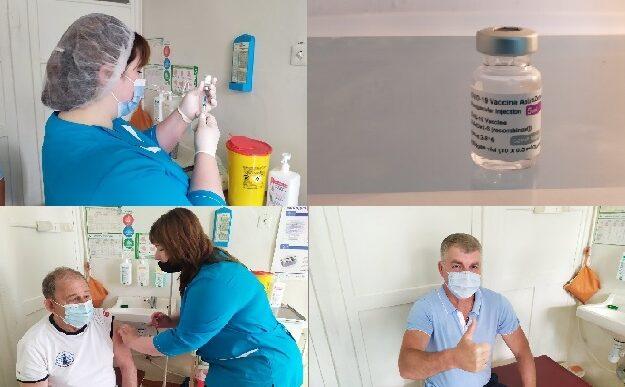 На Межівщині розпочато повторну вакцинацію від COVID-19